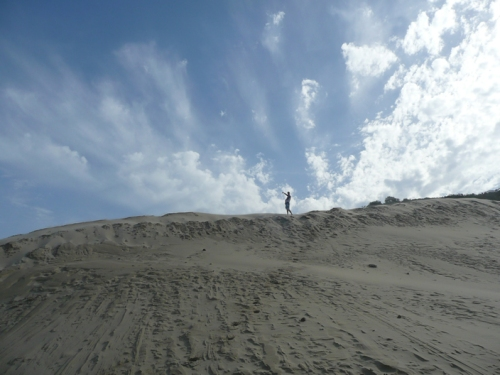 Dude on a dune.
