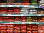 Wall of polony. I went wild on a photoshoot in the Superspar.