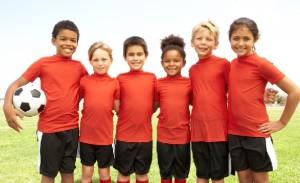 A soccer team